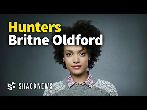 Hunters Britne Oldford Interview