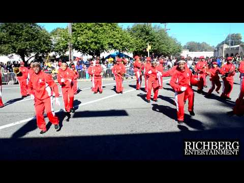 12) Welborn Middle School Marching Band - NC A&T Home Coming Parade 2014