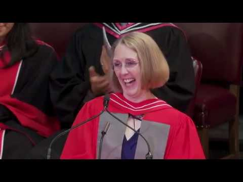 Janis Chodas, Convocation 2018 Honorary Degree Recipient