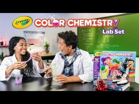 NEW Crayola Color Chemistry || Crayola Product Demo