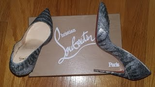 PIGALLE FOLLIES 100MM CHRISTIAN LOUBOUTIN UNBOXING 2016