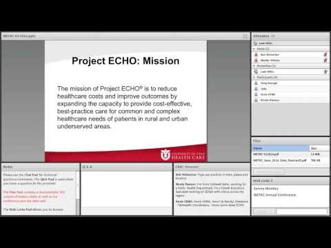 University of Utah Health Care - Project ECHO