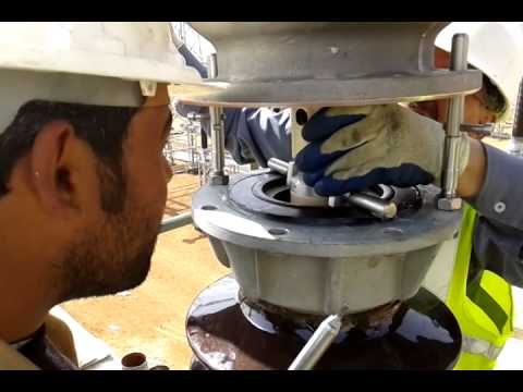 How to install SF6 400 KV Circuit Breaker 2014