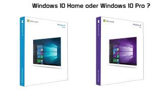 Windows 10 Home oder Pro? Was sind die Unterschiede bzw. Was ist Gleich?