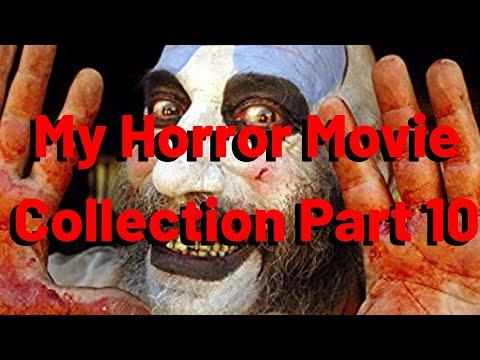 My Horror Movie Collection Part 10 #horror #horrortube #movies #movietube