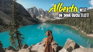 WHY ALBERTA SHOULD BE ON YOUR BUCKETLIST! | Larissa D