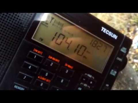 Tecsun PL-310ET vs Tecsun PL-680 (104,1 MHz Korsakov,Sakhalin)