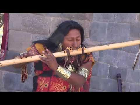 Traditional Inca music - Cusco - Peru - 2018
