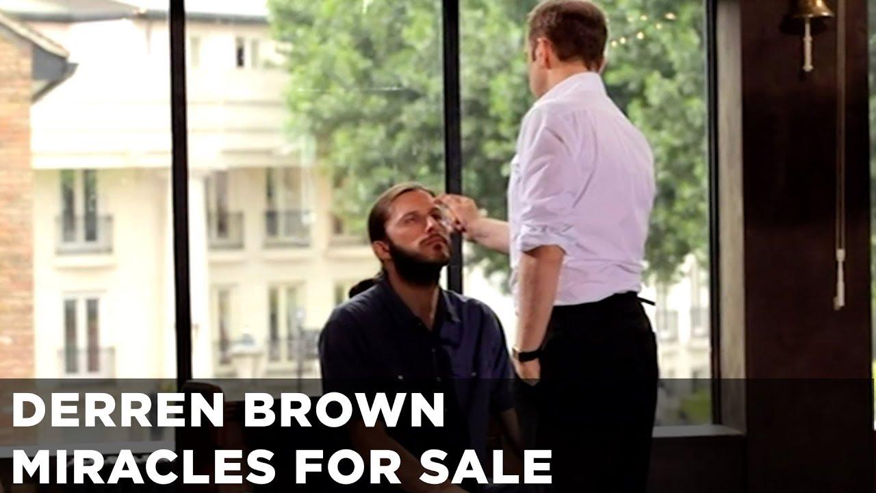 Derren Brown Reveals His Plan To Debunk Faith Healers
