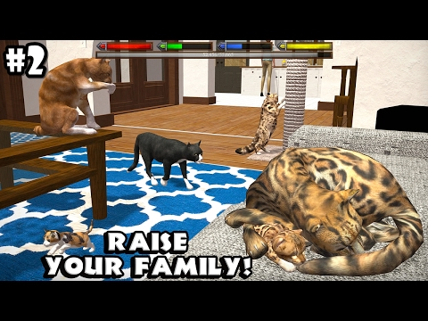 Ultimate Cat Simulator - Creating a Family - Android/iOS - Gameplay Episode 2