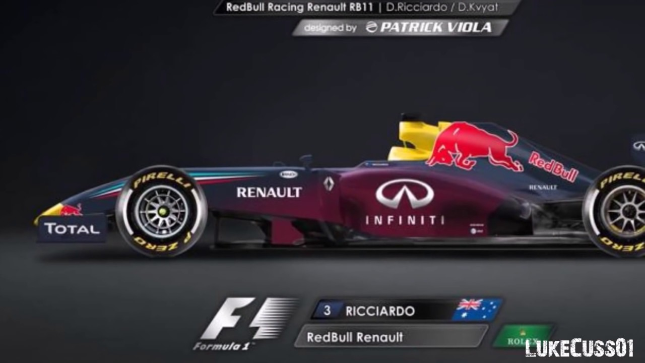 Formula 1: Possible 2017 Car Liveries?   YouTube