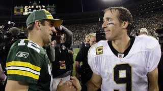 Is Drew Brees BETTER THAN Aaron Rodgers?