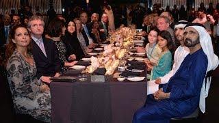 vuclip محمد بن راشد يحضر حفل استقبال ملاك ومربي ومدربي الخيول المشاركة في كأس دبي العالمي