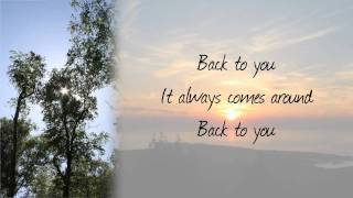 john mayer back to you with lyrics