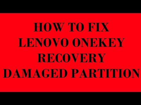 Download Lenovo One Key Recovery 4 0 Rescue System - YouTube