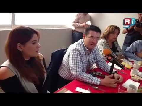 Conferencia de prensa de Álvaro Ruelas, Alcalde electo de Ahome