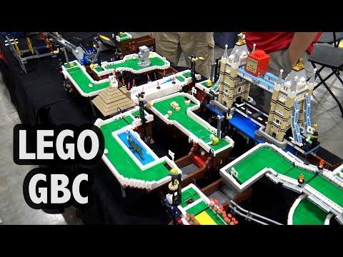 LEGO Great Ball Contraption Mini Golf Modules | Brickworld Chicago 2018