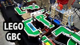 LEGO Great Ball Contraption Mini Golf Modules   Brickworld Chicago 2018