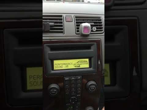 Volvo V50 2005 - radio problem