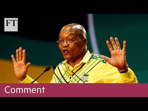 Jacob Zuma - from hero to disgrace