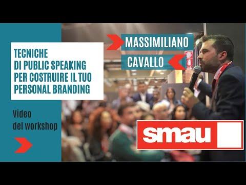 Immagine per Tecniche di public speaking per costruire il tuo personal branding - Smau Milano 2017