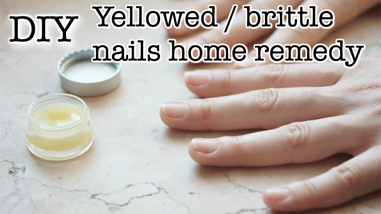 Nail Whitening Home Remedy: Oil, Stick & Butter - YouTube
