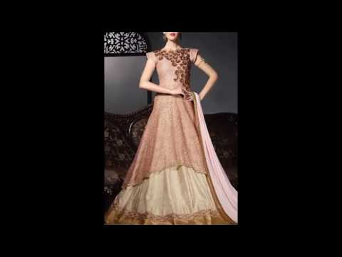 Latest Indian Party Wear Evening Gowns - YouTube