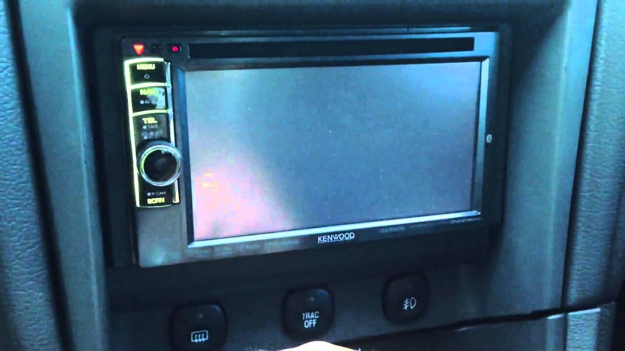 Kenwood DNX6190HD in 2001 Mustang Bullitt - YouTube