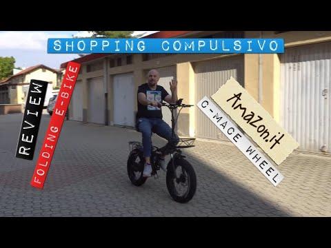 "Download 👨🏻⚕Review: 🥇Bici Elettrica FAT 🚲GW20 Folding fat bike 20"" 48v 750w Scelta su Amazon 😍 #wow #bike"