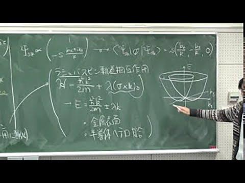 慶應義塾 大学院講義 物性物理学...