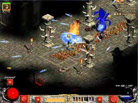 Diablo3 PS3 日本語版 act.4ネカラットさんNV維持で鍵集めループマラソン