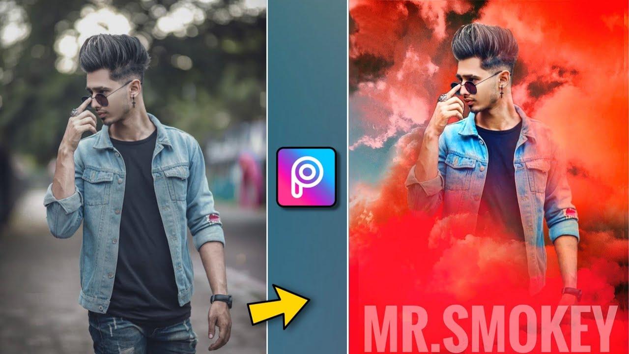 New Picsart Smoke effect   Picsart Photo Editing   Snapseed Editing Tricks   Xyaa Edits 🔥