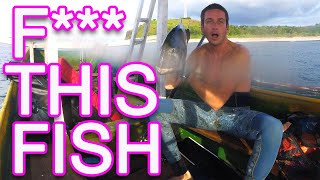 why spearfishing is difficult (almost drowned)