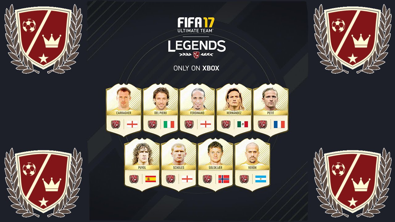 10 NEW FIFA 17 LEGENDS ANNOUNCED!! - YouTube