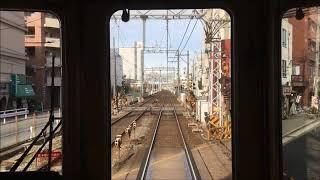 前面展望 阪急秋の臨時列車 直通特急とげつ 宝塚ー嵐山ダイジェスト