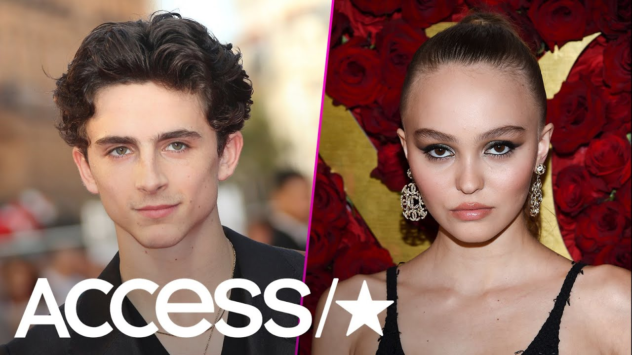 Timothee Chalamet Lily Rose Depp Make Their Romance Official With Steamy Kisses Access Youtube