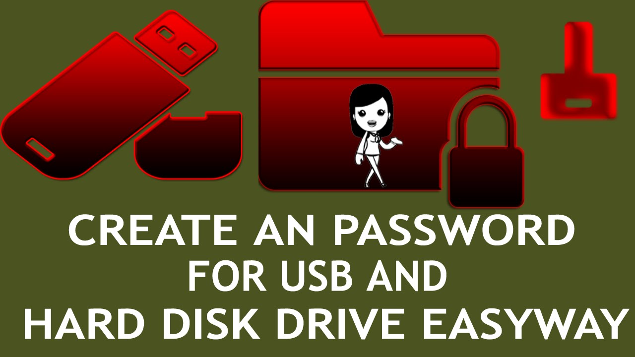 flash drive password partition