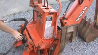 Kubota B21 BT751 Backhoe Attachment For Sale Mark Supply Co