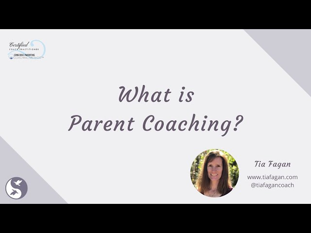 What is Parent Coaching?