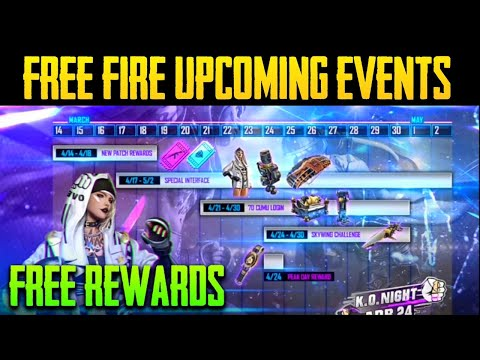 FREE FIRE UPCOMING EVENTS - FREE REWARDS IN FREE FIRE - FREE FIRE OB27 UPDATES - FREE FIRE NEW EVENT