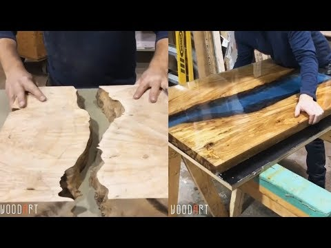 10 Awesome Making Epoxy Resin and Wood! Woodworking Project