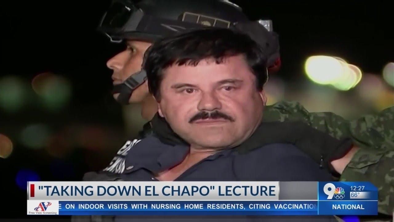 Download DEA features 'Taking Down El Chapo' lecture