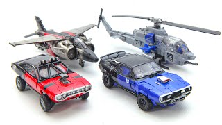 Transformers Movie Bumblebee Studio Series Shatter Dropkick Car Helicopter Air Fighter Robot Toys