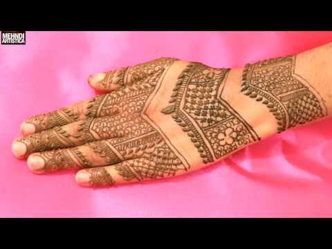 Gulf Checks Easy Simple Stunning Henna Mehndi Design:Tradistional Style Mehendi Art 2017 Patterns