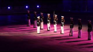노르웨이 군사축제 | 미국 해병대 의장대 공연 (201…
