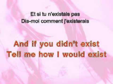 Et Si Tu N'Existais Pas - Joe Dassin Lyrics - YouTube