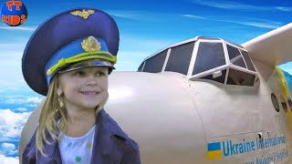 Kids Will Киев Город Профессий для детей! Ярослава - Пилот Самолета! Play for Kids Part 2