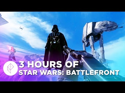 Watch us play the Star Wars Battlefront Beta live