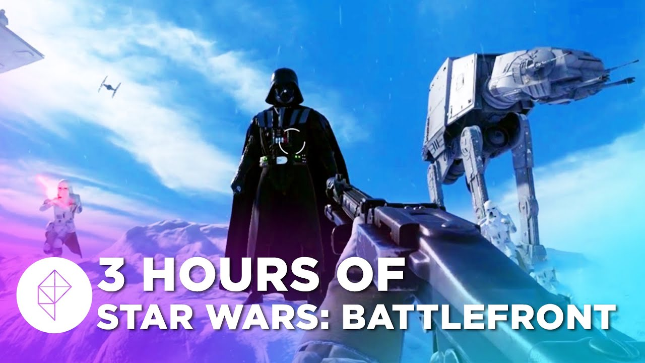 3 hours of star wars battlefront gameplay beta livestream polygon let 39 s play hub game. Black Bedroom Furniture Sets. Home Design Ideas