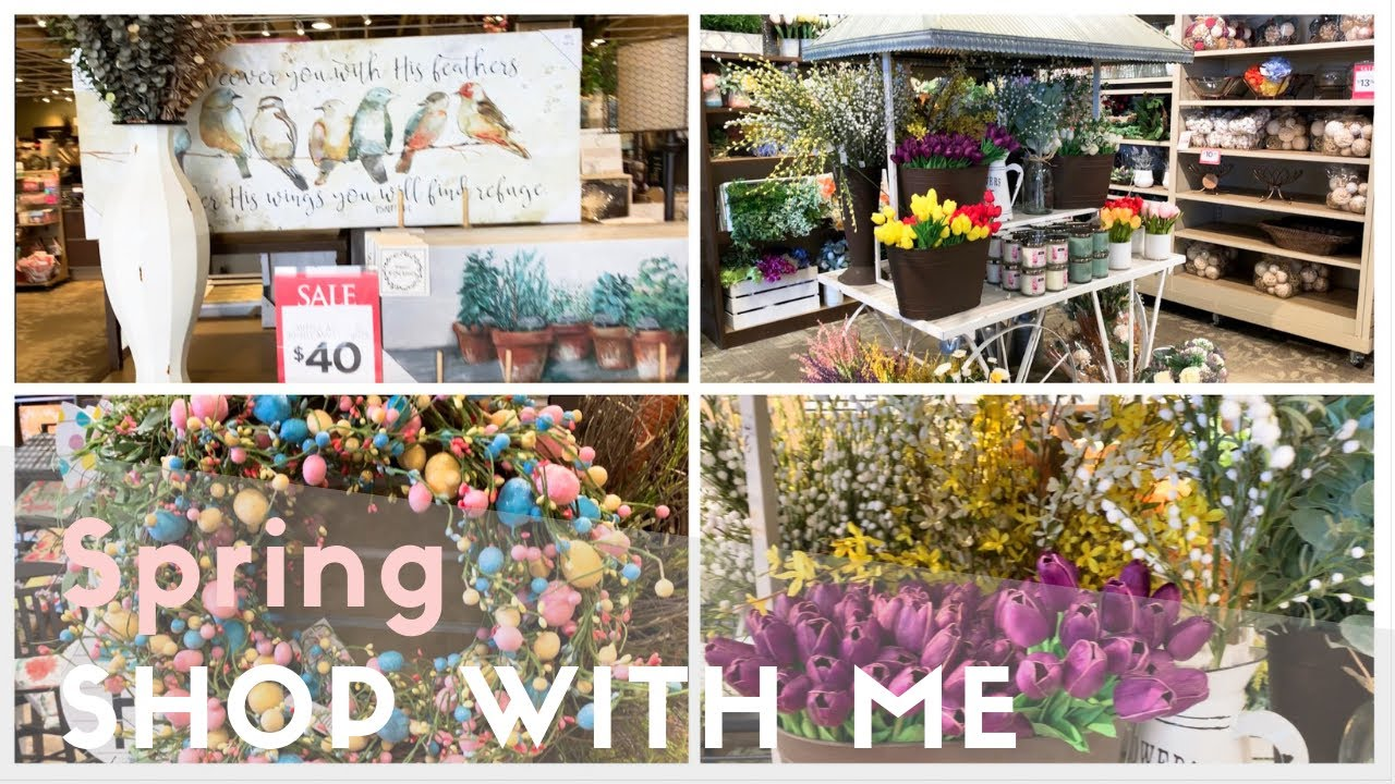 Shop With Me For Spring Easter Decor 2019 Homegoods